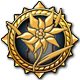 Valkyria Chronicles Badge Foil