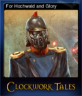 Clockwork Tales Of Glass and Ink Card 2