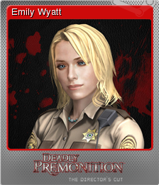 Deadly Premonition Directors Cut Foil 2