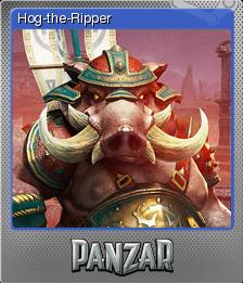 Panzar Card 03 Foil