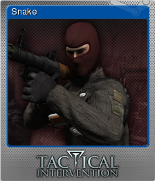 Tactical Intervention Foil 4