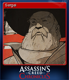 Assassin's Creed Chronicles Russia Card 3
