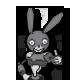 Boo Bunny Plague Badge 1
