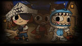 Costume Quest Background Pirate, Vampire and Yeti