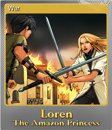 Loren The Amazon Princess Foil 1
