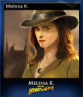 Melissa K and the Heart of Gold Card 1