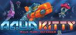 Aqua Kitty - Milk Mine Defender Logo