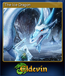 Eldevin - The Ice Dragon   Steam Trading Cards Wiki   FANDOM powered