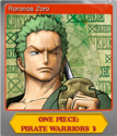 One Piece Pirate Warriors 3 Foil 2