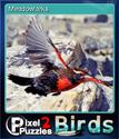 Pixel Puzzles 2 Birds Card 7