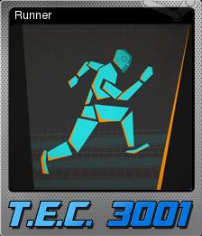 T.E.C. 3001 Card 03 Foil