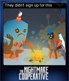 The Nightmare Cooperative Card 05