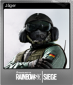 Tom Clancy's Rainbow Six Siege Foil 08