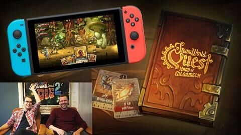 The Engine Room 33 – SteamWorld Quest Q&A New Gameplay Giveaway for Nintendo Switch