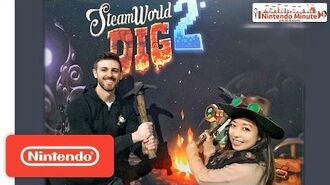 SteamWorld Dig 2 on Nintendo Switch Developer Challenge! – Nintendo Minute