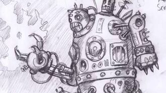 Concept Art from SteamWorld Heist – The Engine Room 12