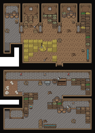 Rat occupied Barn
