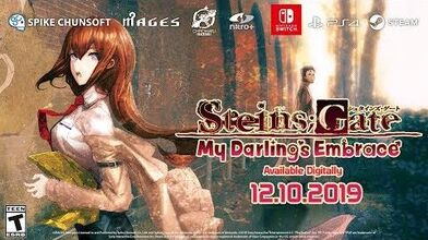 STEINS;GATE- My Darling's Embrace Announcement Trailer - PS4, Nintendo Switch, Steam (PC)