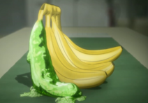 Eine Gel Banane