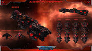 Axis Supportship