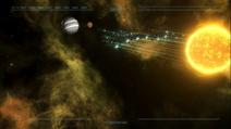 Paranisti Ships, captured by Terran CV-3 Probe