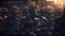 LFC troops