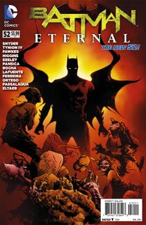 Batman Eternal 52 Cover