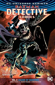 Detective Comics League of Shadows TPB