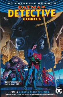 Detective Comics A Lonely Place of Living TPB Cover