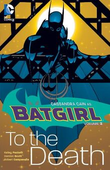 Batgirl to the death tpb cover