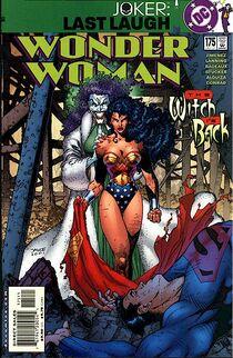 Wonder woman 175 cover