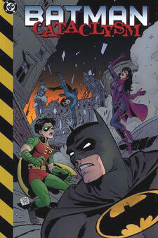 Batman cataclysm tpb