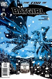 Batgirl 73 Cover
