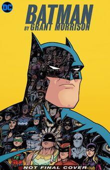 Batman Grant Morrison Vol 3 provisional cover