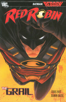 Red robin the grail tpb