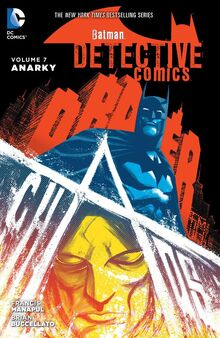 Detective Comics Anarky cover