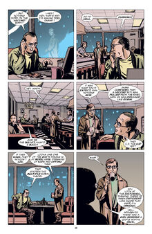 Gotham Central panel
