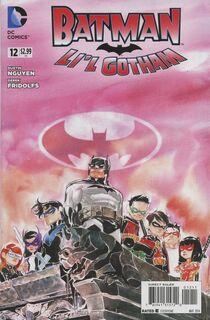 Batman lil gotham 12 cover