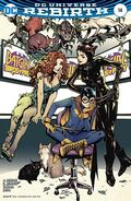 Batgirl Birds of Prey 14B Cover