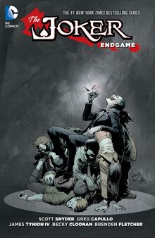 The Joker Endgame TPB cover