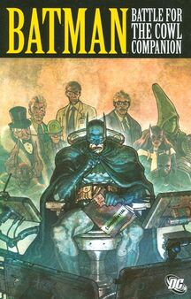 Batman Battle for the Cowl Companion TPB Cover