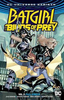Batgirl Birds of Prey Full Circle TPB Cover
