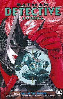Detective Comics Fall of the Batmen TPB Cover