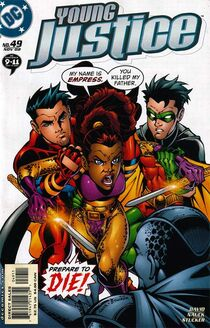 Young justice 49 cover