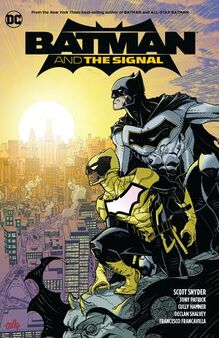 Batman And The Signal TPB Cover