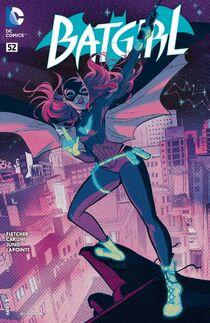 Batgirl 52 Cover