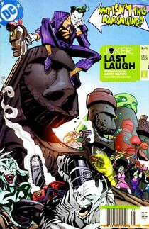 Joker last laugh 3 cover