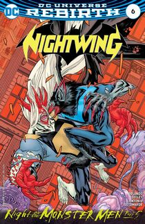 Nightwing 6 cover