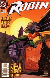 Robin 74 cover
