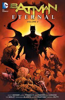 Batman Eternal volume 3 TPB cover